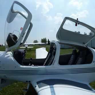 Pilot of the Diamond DA40